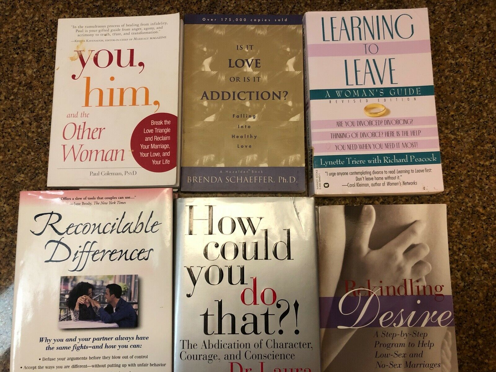 6 Marriage Infidelity Values Self Help Books