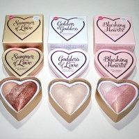 Makeup Revolution I Heart Makeup Blushing Hearts - New Shades