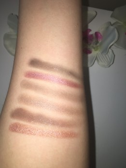 Swatches of bottom shadows