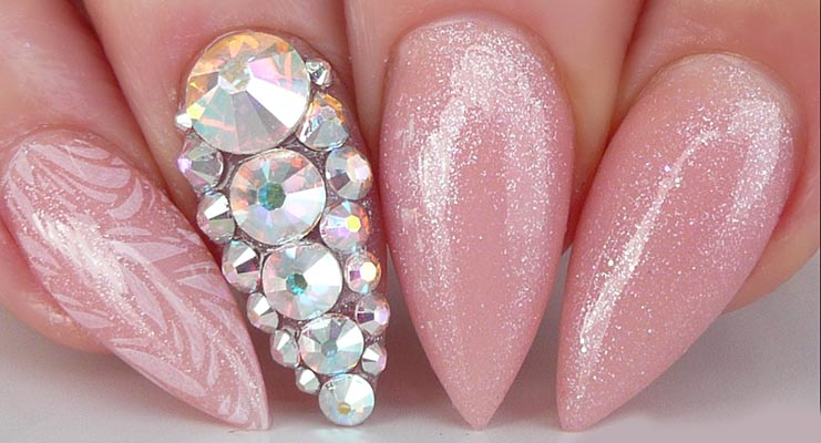 Bridal Nail Art Pictures And Ideas