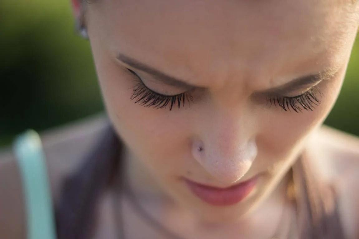 reopen piercing nose