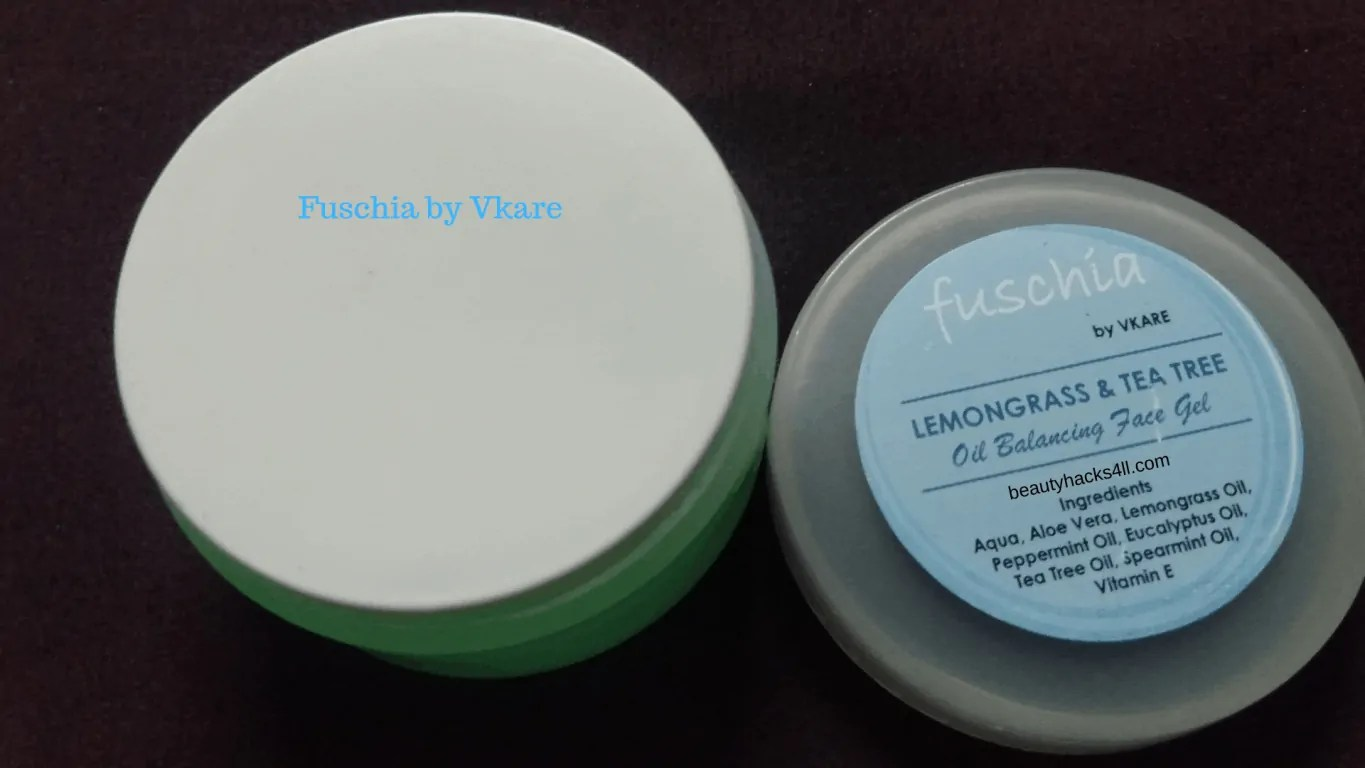 fuschia face gel