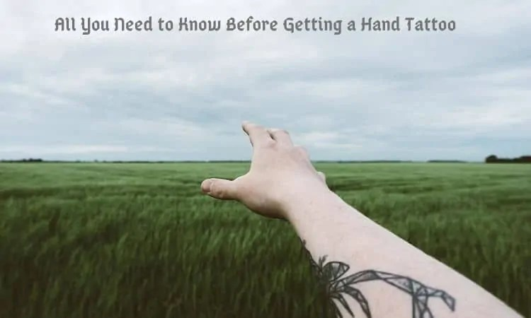 hand tattoo guide