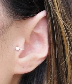 tragus piercing for men and woman