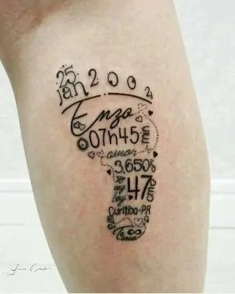 footprint-family-tattoo-ideas