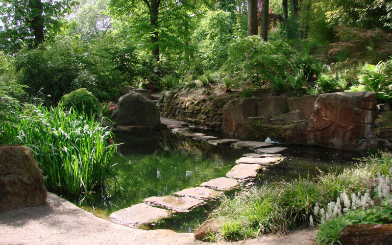 10 Japanese Gardens from the Heaven