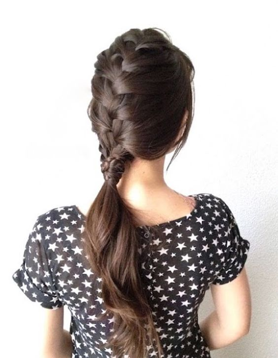 romantic braid for everyday