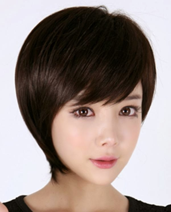 Collection of feather cut hair styles for short  medium and long hair Straight feather cut on cropped hairs