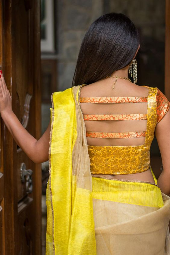 Blouse Design Back Side For Dulhan 30 Latest Blouse Back Neck Designs In Blouses Discover The Latest Best Selling Shop Women S Shirts High Quality Blouses,Designer Punjabi Suits Boutique Online