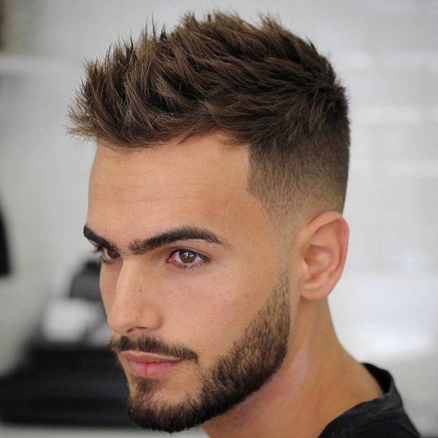 hairstyles & haircuts according to face shape male - beauty