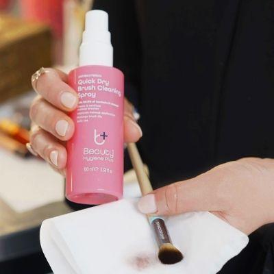 Beauty Hygiene Plus Antibacterial Makeup Brush Cleaning Spray