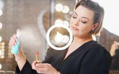 Video Guide Quick Dry Makeup Sanitising Mist (for use on your makeup products)