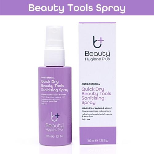 Beauty Hygiene Plus Quick Dry Beauty Tools Sanitising Spray 100ml