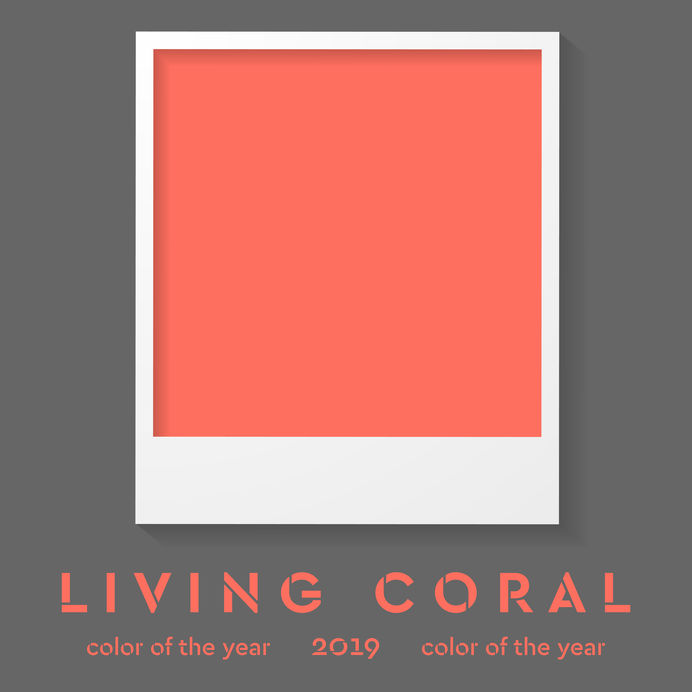 Beauty Image Lab Martina Lizzani Make Up Artist Pantone 2019 Living Coral 2