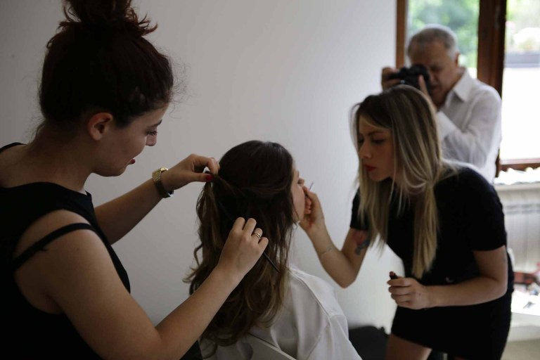 TRUCCO SPOSA - Bridal Make Up Martina Lizzani Beauty Image Lab MakeUp Artist Roma Portfolio - 01