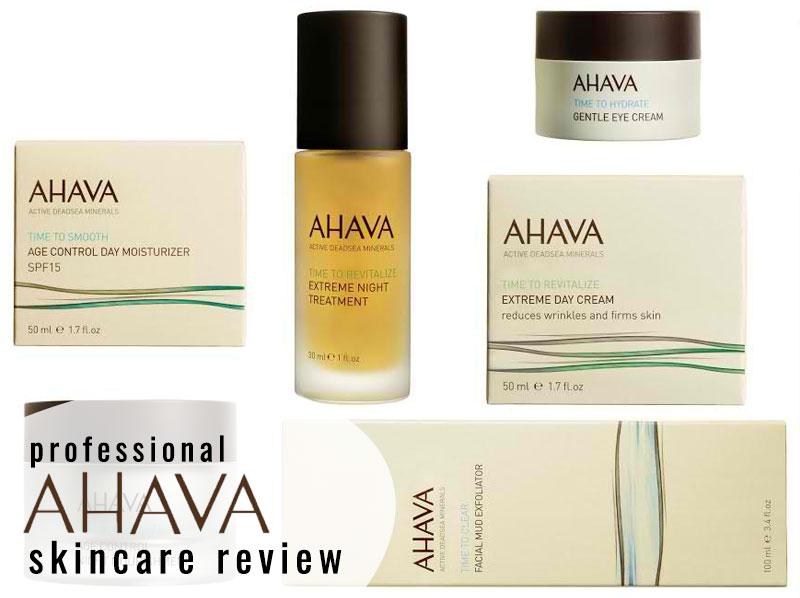 Ahava Skincare Brand Review