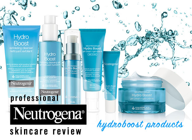 Neutrogena Hydro Boost Products Review