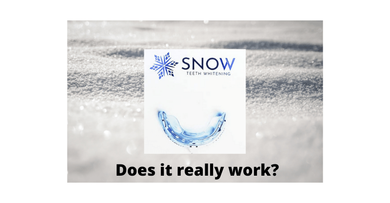 Snow Teeth whitening review banner