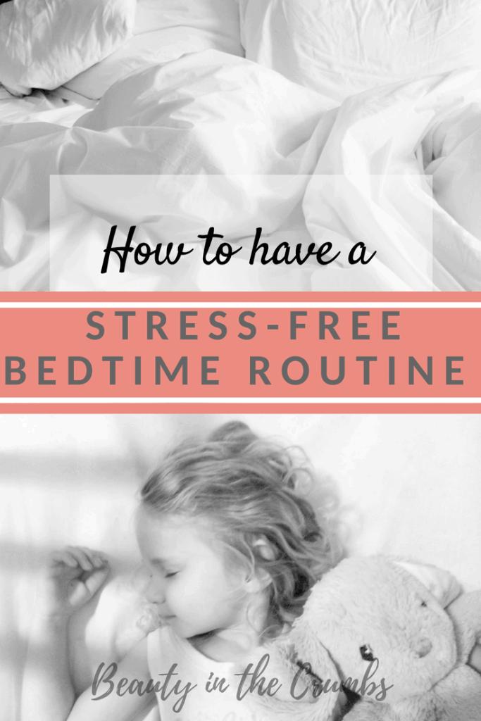 Bedtime routine to help baby sleep, toddler sleep, preschooler sleep