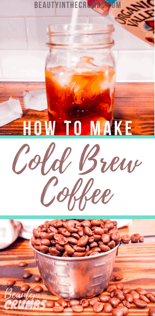 Learn how to make your own cold brew coffee with this easy DIY recipe that uses a French press.