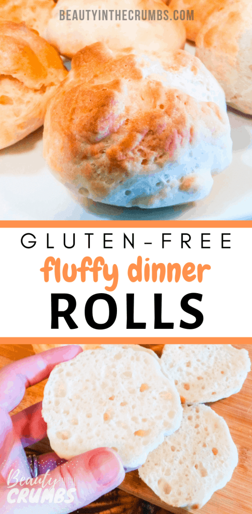 Check out this easy recipe for gluten free, dairy free, and vegan dinner rolls!