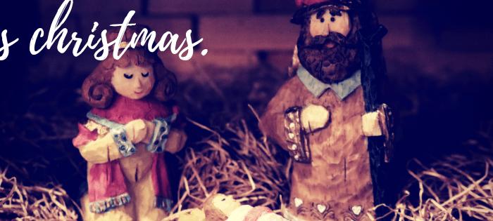 it's Christmas.