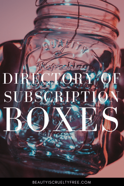 Subscription Box Directory - organic crueltyfree skincare | BeautyIsCrueltyFree.com