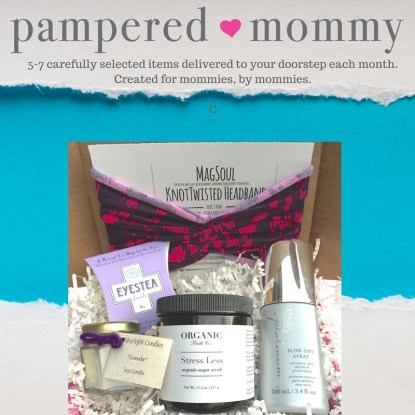 pampered mommy subscription box for moms organic subscription box - best subscription boxes - cruelty-free beauty box subscriptions - vegan beauty box - vegan subscription box - unboxing subscription box review | beautyisgf123.com