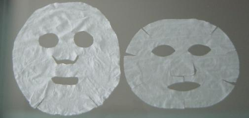 Left: S brand   Right: Kose lotion mask
