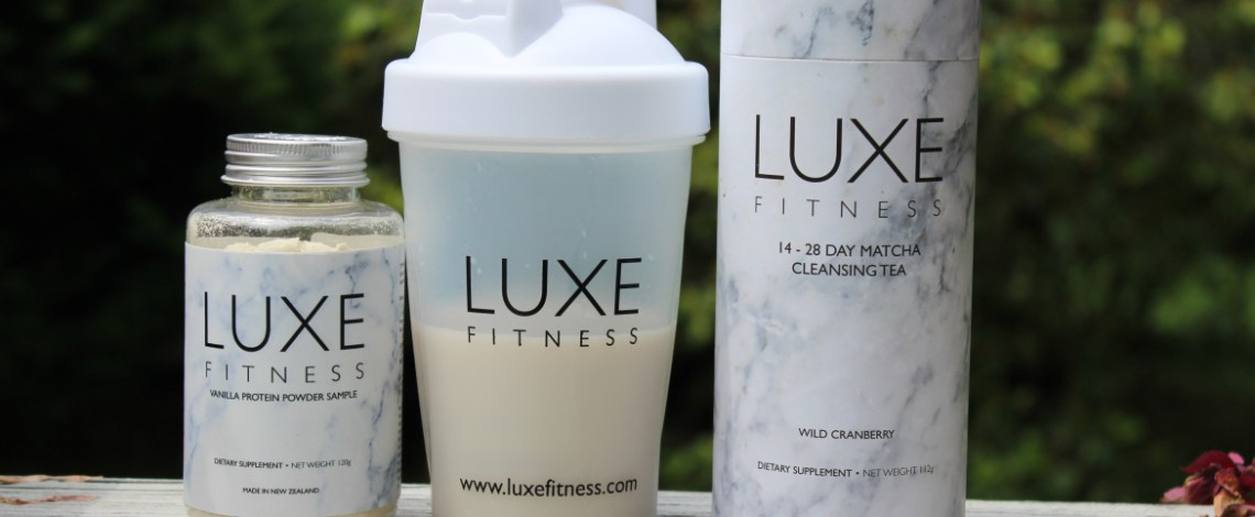 Luxe Fitness Detox Tea and Protein Powder