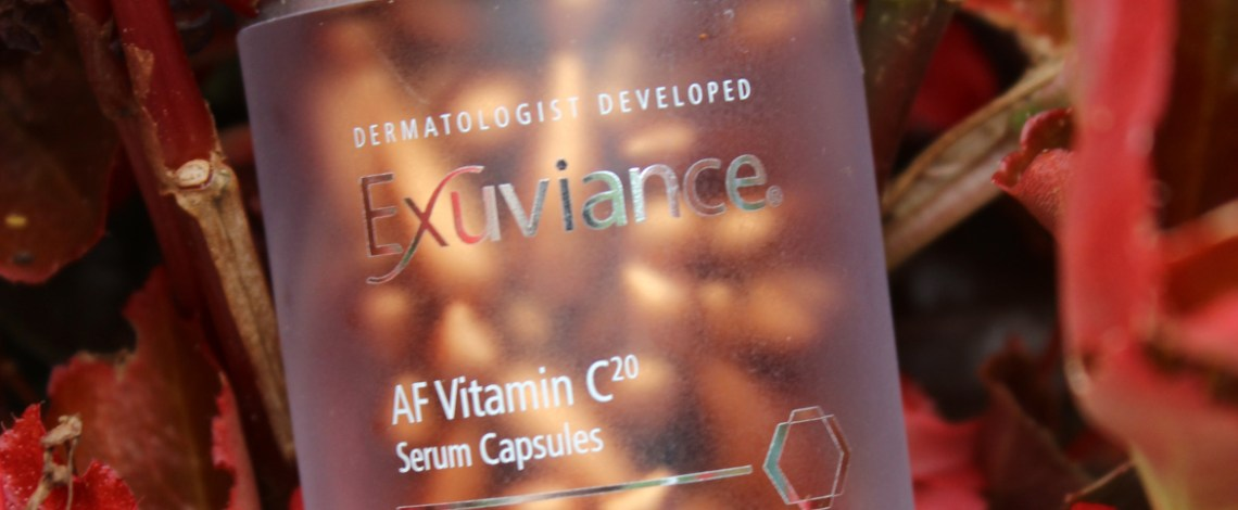 Exuviance AF Vitamin C20 Serum Capsules to Nourish Your Skin