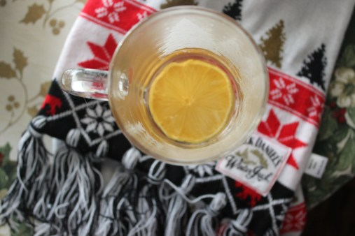 Hot Toddy with the best winter scarf