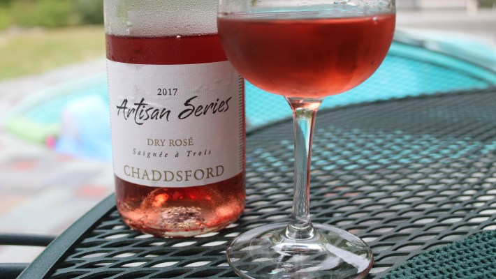 Chaddsford Winery's Artisan Series Dry Rosé