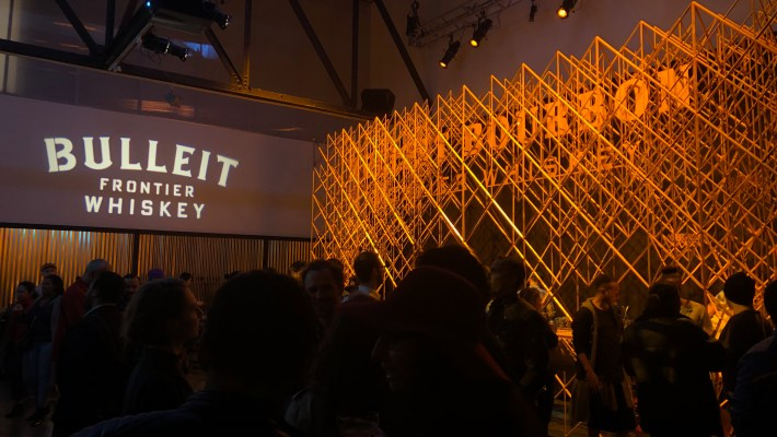 Bulleit 3D Printed Frontier Lounge at Tribeca Film Festival