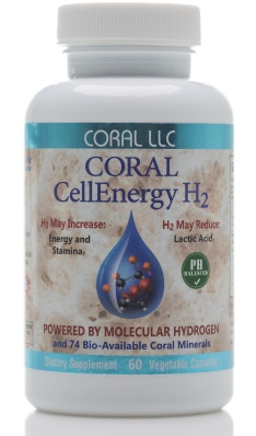 Wakeup with Coral CellEnergy H2 Molecular Hydrogen Supplement