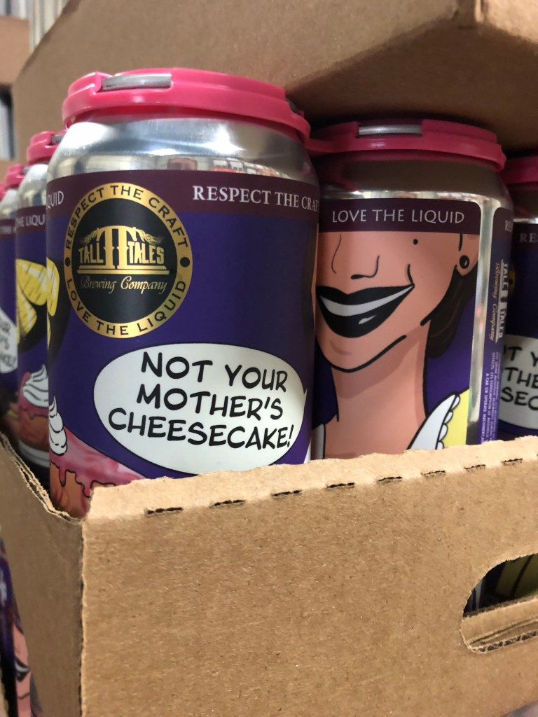 Not your mother's cheesecake