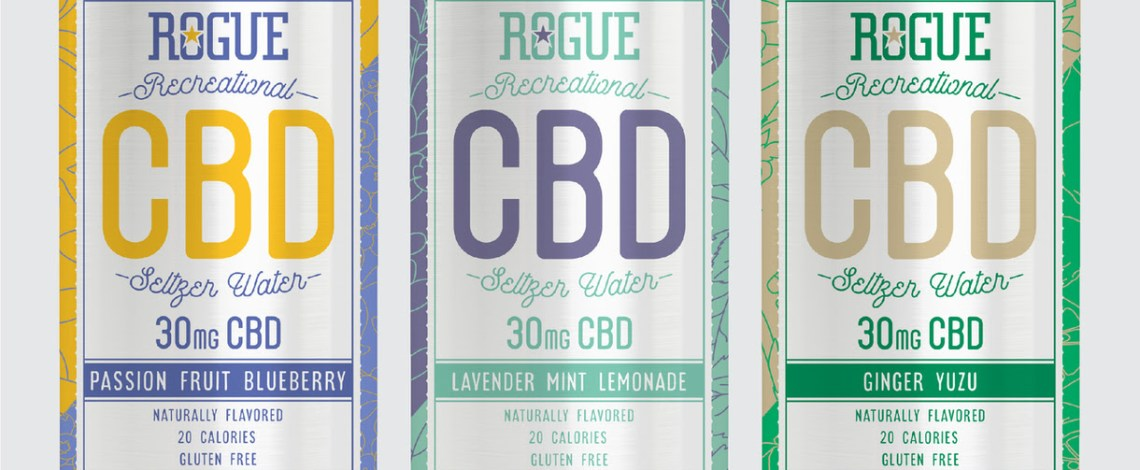 Rogue Ales & Spirits Launches Low-Calorie Recreational CBD Seltzer Water