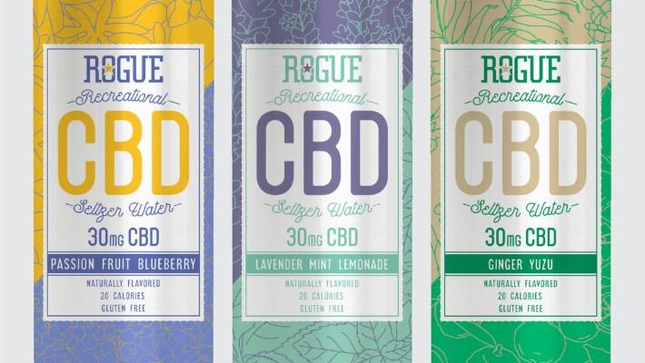 Rogue Ales & Spirits Launches Low-Calorie Recreational CBD Seltzer Water