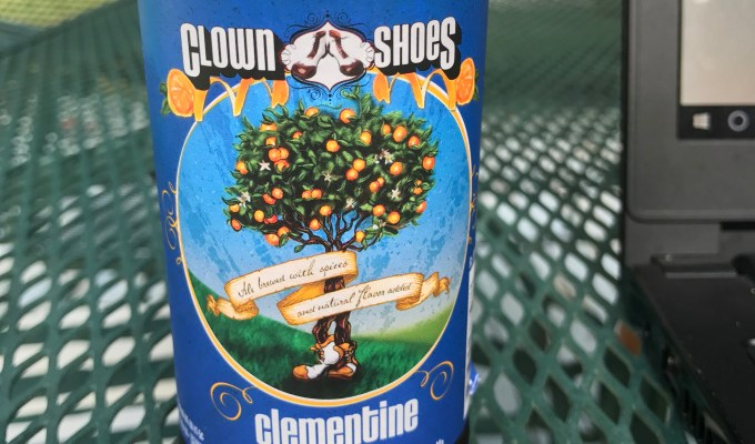 Clown Shoes Clementine Beer