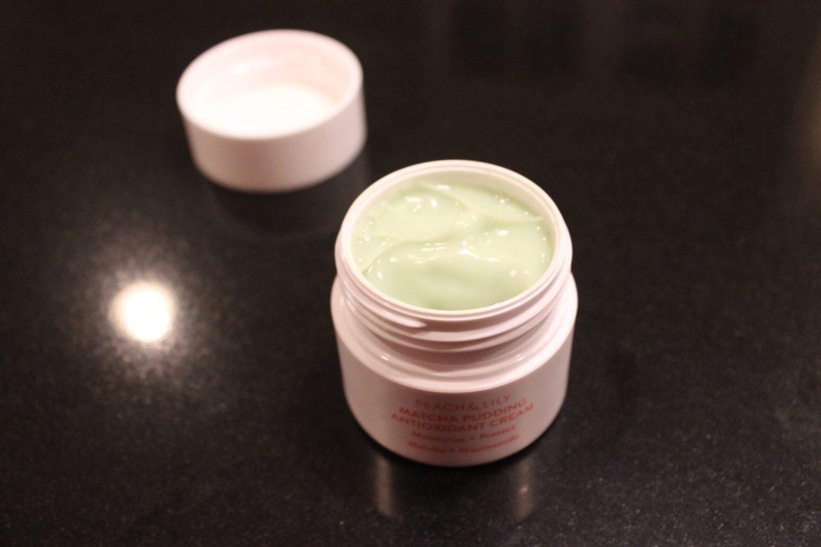 Matcha Pudding Antioxidant Cream