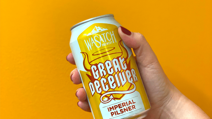 Wasatch Brewery Launches New Imperial Pilsner: Great Deceiver