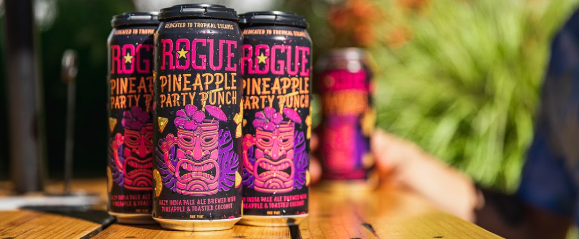 Rogue Ales & Spirits Releases Pineapple Party Punch this October