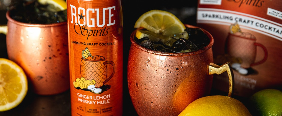 Rogue Spirits Launches Whiskey Canned Cocktail in Time for the Holiday Season
