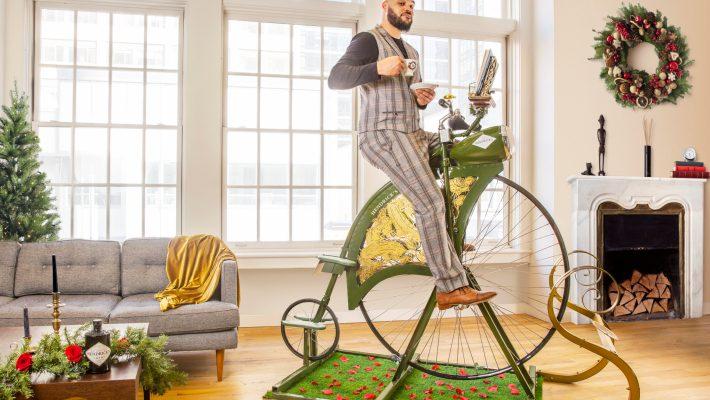 Hendrick's Gin's Latest Innovation - An Exercise Bike!