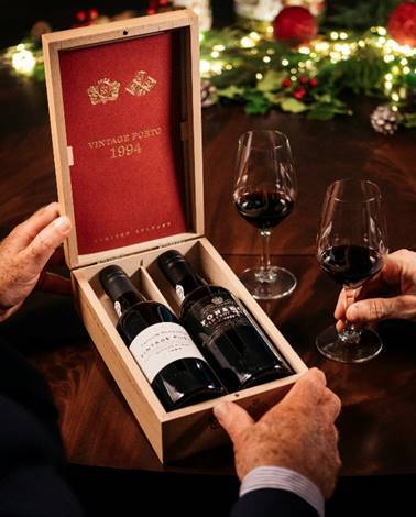 The Fladgate Partnership Announces: 1994 Vintage Port Special-Edition Set