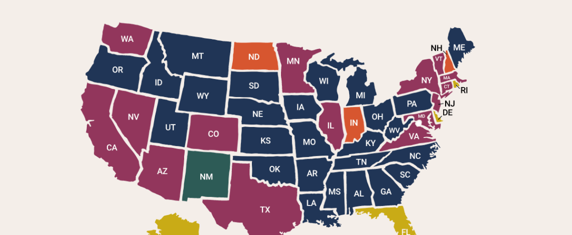 Modsy Interior Design Index: Find Out What Design Style is Most Popular in Your State