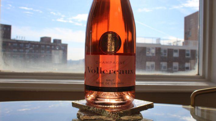 Champagne Vollereaux Rosé de Saignée Brut NV