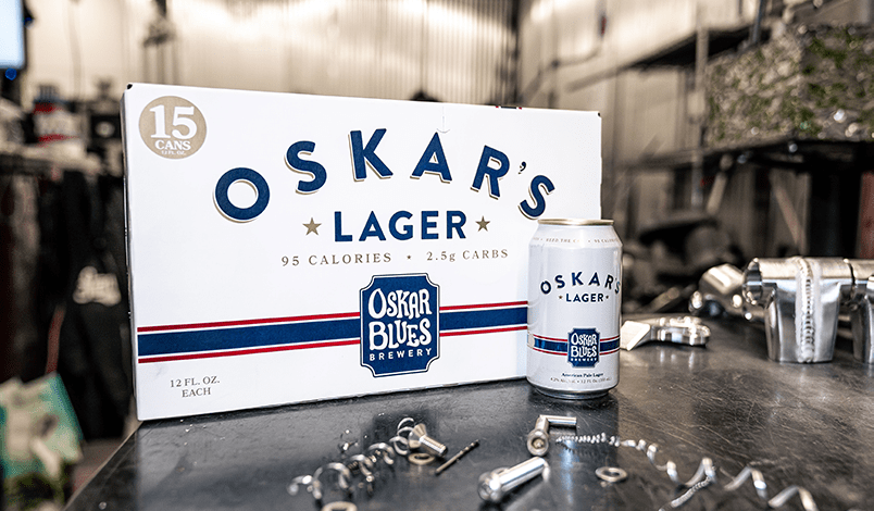 Oskar Blues Brewery Introduces Oskar's Lager