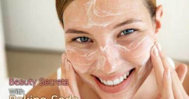 7 Natural Beauty Secrets With Baking Soda