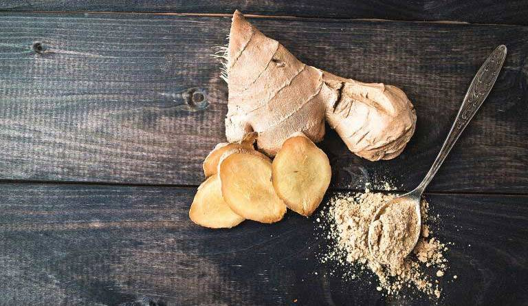 Ginger Root cosmetic for Skin